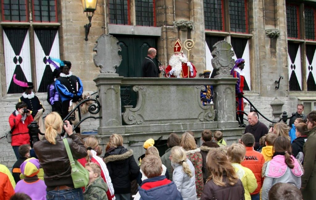 Sinterklaas in Veere